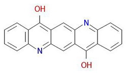 Пигмент-фиолетово-19-Молекулярно-Структура